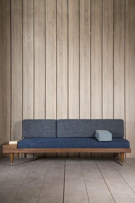 Use Of Metal In Mid Century Modern Furniture In 2020 Wooden Sofa Designs Sofa Design Scandinavian Sofas