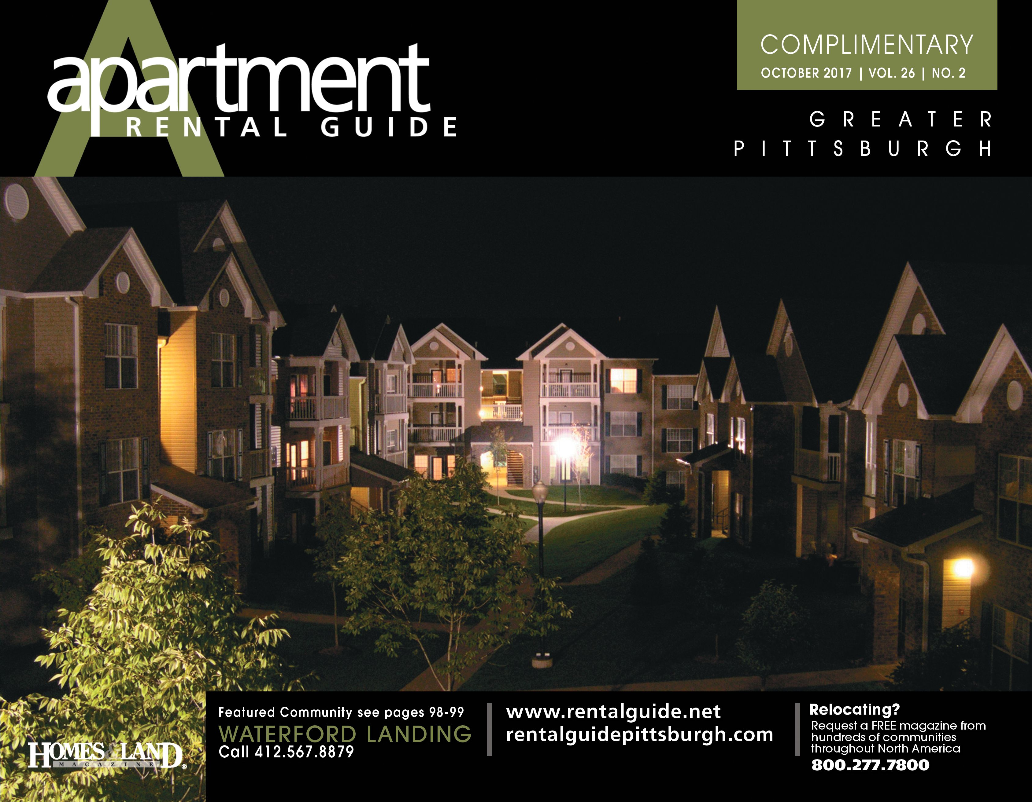 We are proud to showcase Waterford Landing on the October Cover