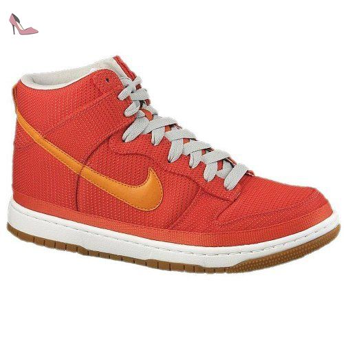 competitive price 93010 f6181 Nike - Dunk High Supreme - Couleur  Orange - Pointure  41.0 - Chaussures  nike