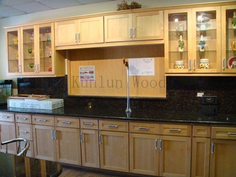 Natural Maple Kitchen Cabinets   Maple kitchen cabinets ...