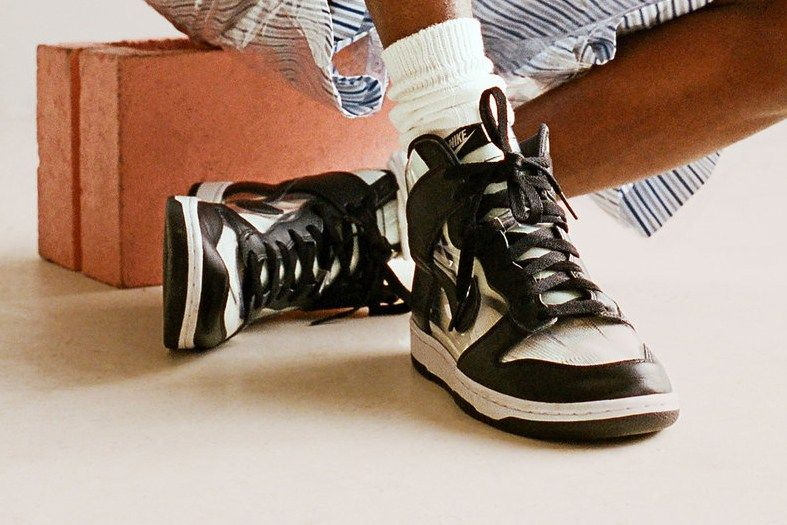 sports shoes 141d3 05396 Heres What the COMME des GARÇONS HOMME Plus x Nike Dunk High Will Cost You