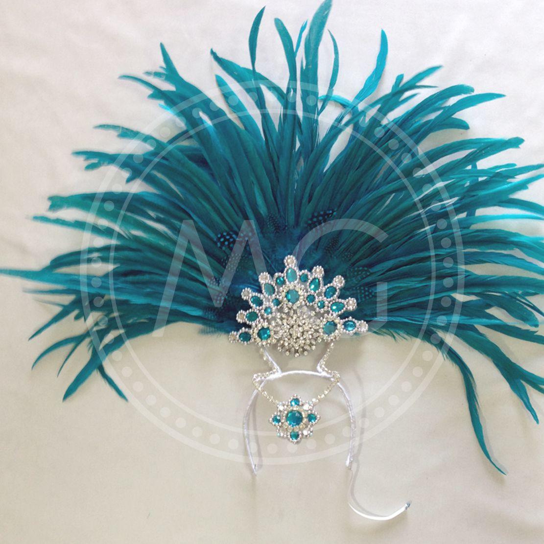Mermaid Headdress Samba Costume by Miss Glamurosa Costumes