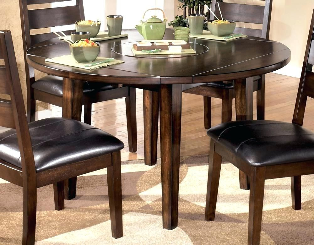New 42 Round Dining Table With Leaf Arts Good 42 Round Dining Table