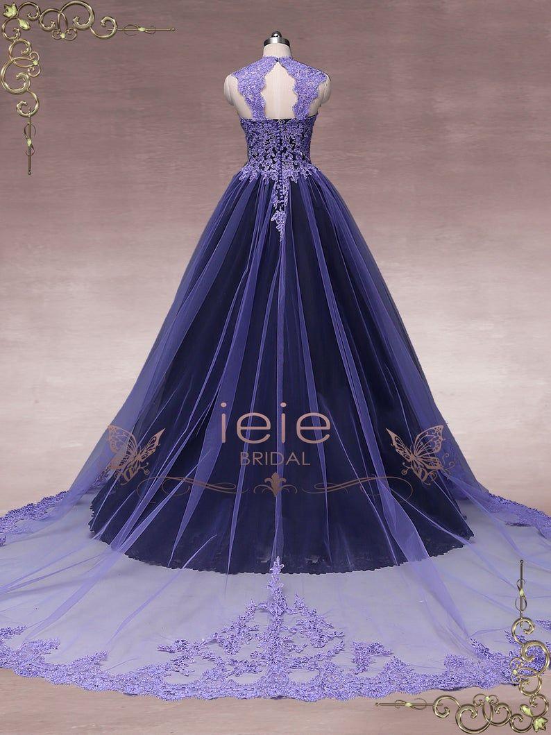 Unique Purple Black Ball Gown Wedding Dress Halloween Wedding Dress Gothic Wedding Dress October Black Ball Gown Ball Gown Wedding Dress Ball Gowns [ 1059 x 794 Pixel ]