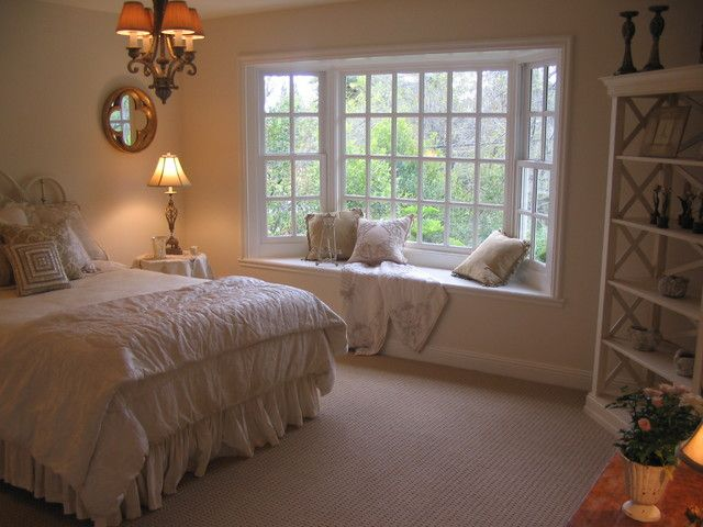 20 Beautiful Bedrooms With Bay Windows  Upvc Windows Bedroom Custom Bedroom Window Designs Design Ideas
