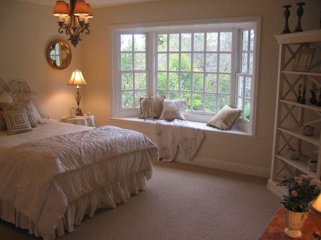 20 Beautiful Bedrooms With Bay Windows Bedroom Layouts Bedroom Window Design Small Bedroom Remodel