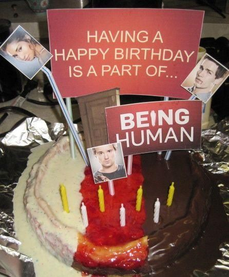 Swell Being Human Cake Dessert Drinks Desserts Cake Personalised Birthday Cards Petedlily Jamesorg