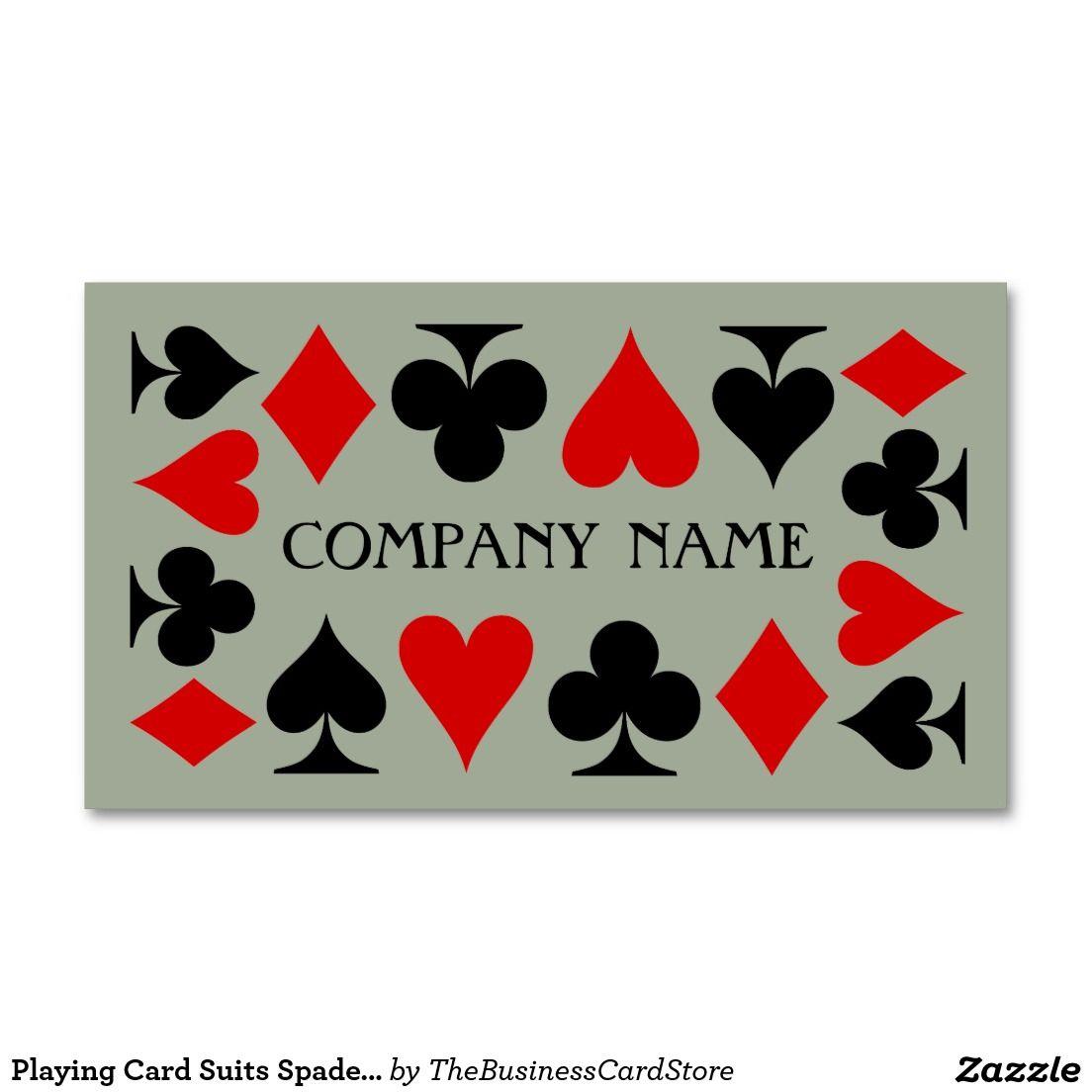 Playing card suits spade heart club diamond business card games playing card suits spade heart club diamond business card magicingreecefo Gallery