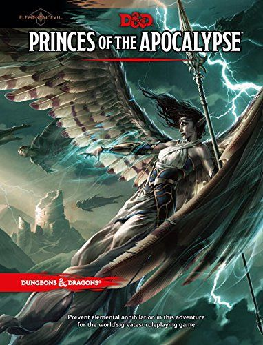 Princes Of The Apocalypse Front Book Cover And Interior Art