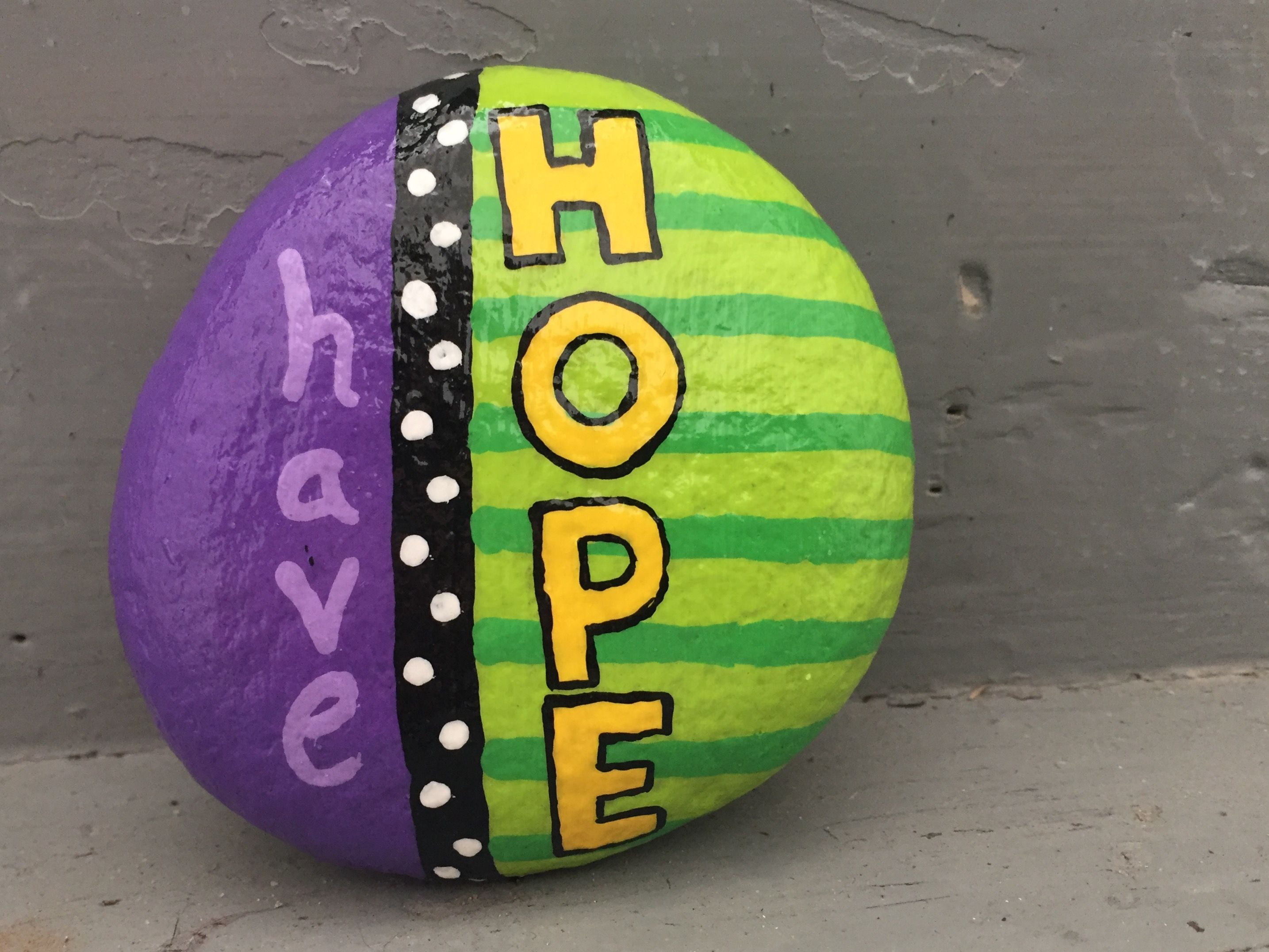 Hand Painted Rock By Caroline The Kindness Rocks Project