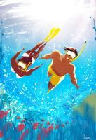 Cool and refreshing. by PascalCampion