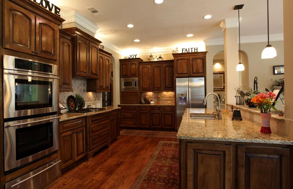 Kitchen 15x12   This Wonderful Gourmet Kitchen Is A Chefu0027s Delight!  Gleaming Wide Planked Hardwood