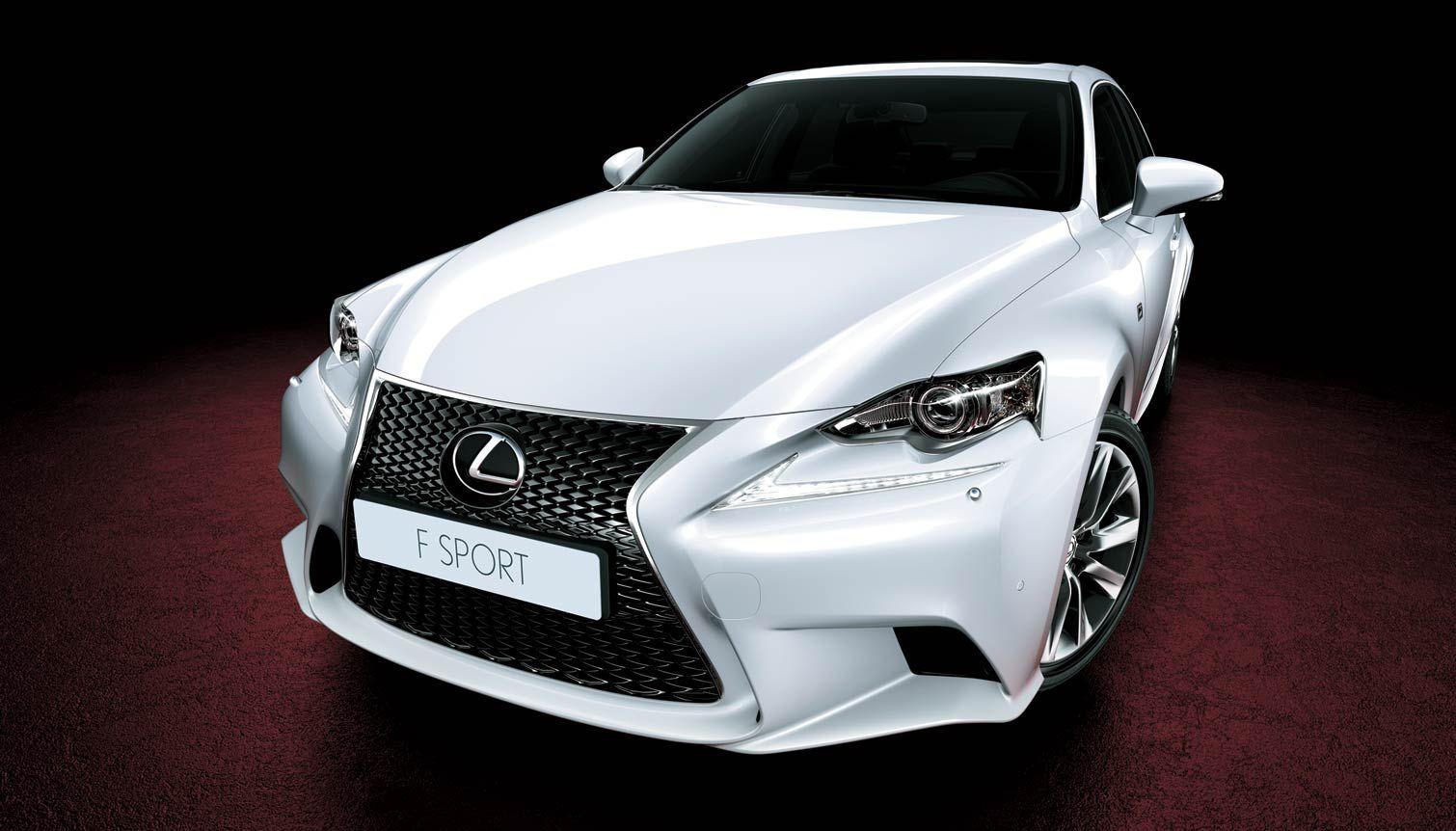 Lexus IS 250 overseas model shown