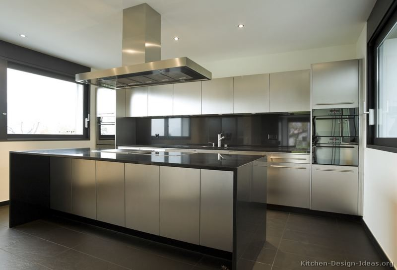 Kitchen Design Ideas Org Enchanting Kitchen Of The Day Modern Stainless Steel Kitchen Cabinets 2 Of Decorating Design