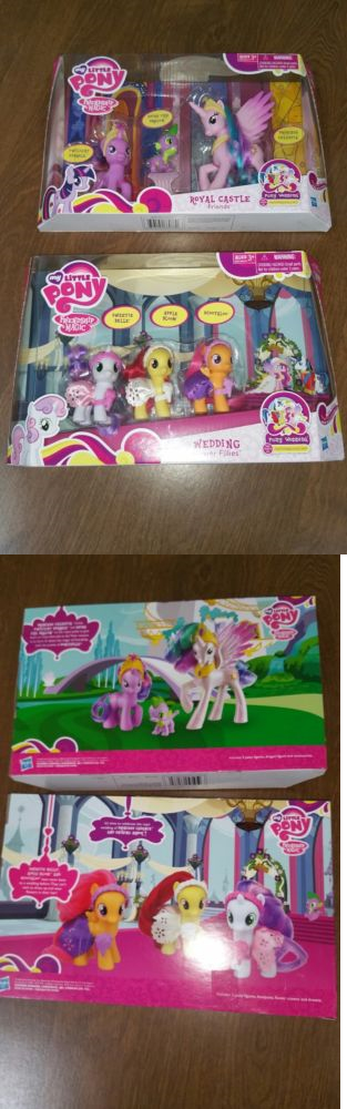 1990 Now 47228 My Little Pony Royal Castle Friends And Wedding Flower Fillies Sets