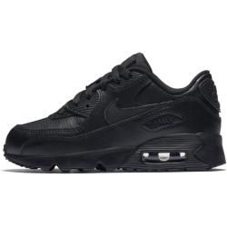 Photo of Nike Air Max 90 Leather Schuh für jüngere Kinder – Schwarz NikeNike