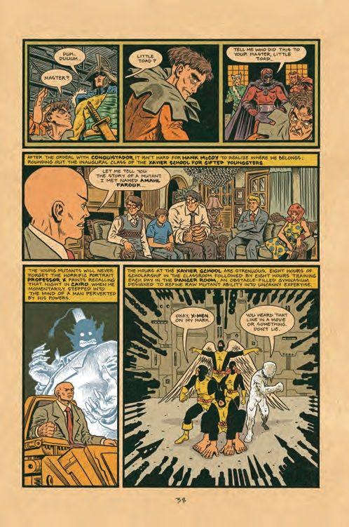 X Men Origins Retold In Preview Of Ed Piskor S X Men Grand Design Grand Designs X Men Retelling