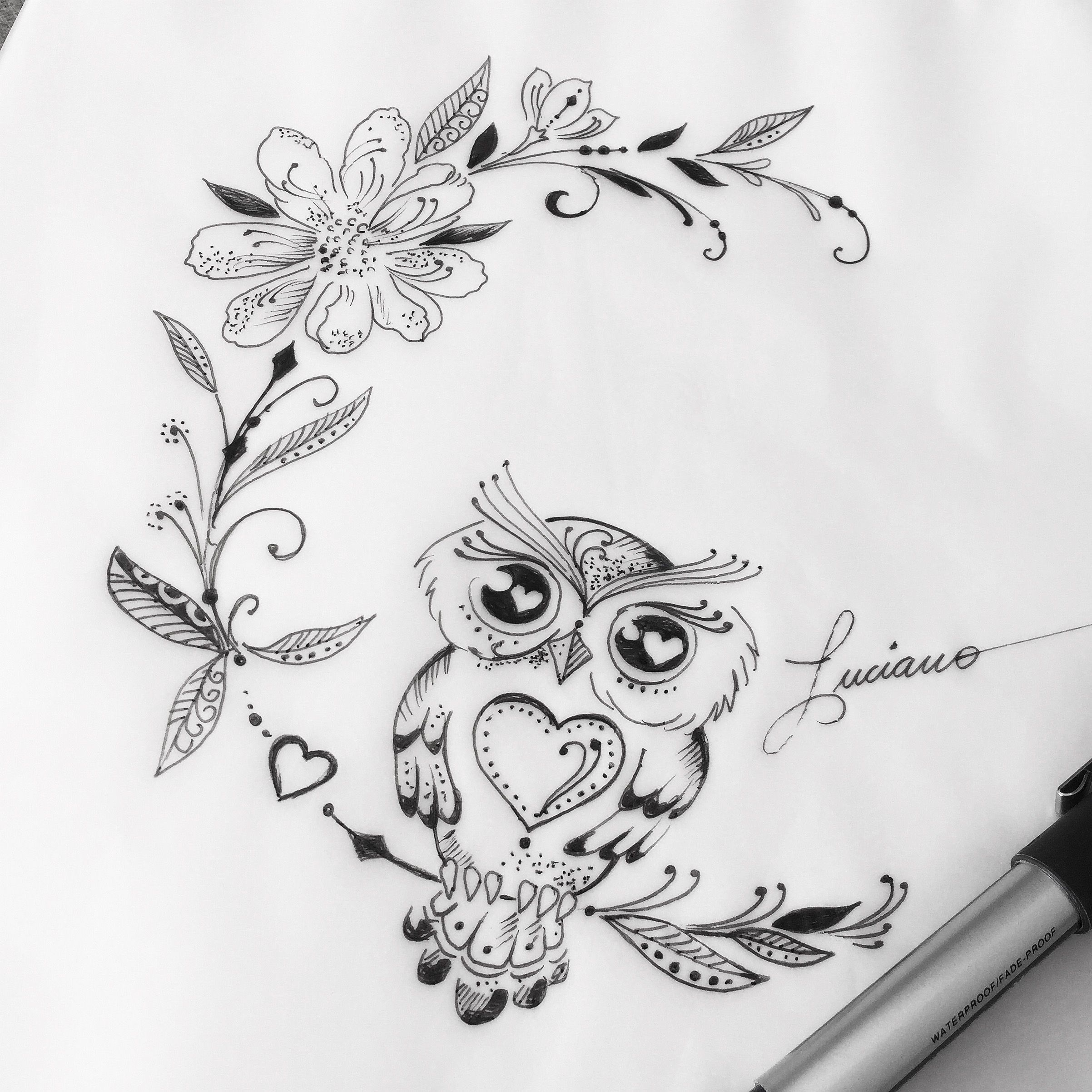 Photo of Owl Tattoo For Women Back | Owl Tattoo For Women