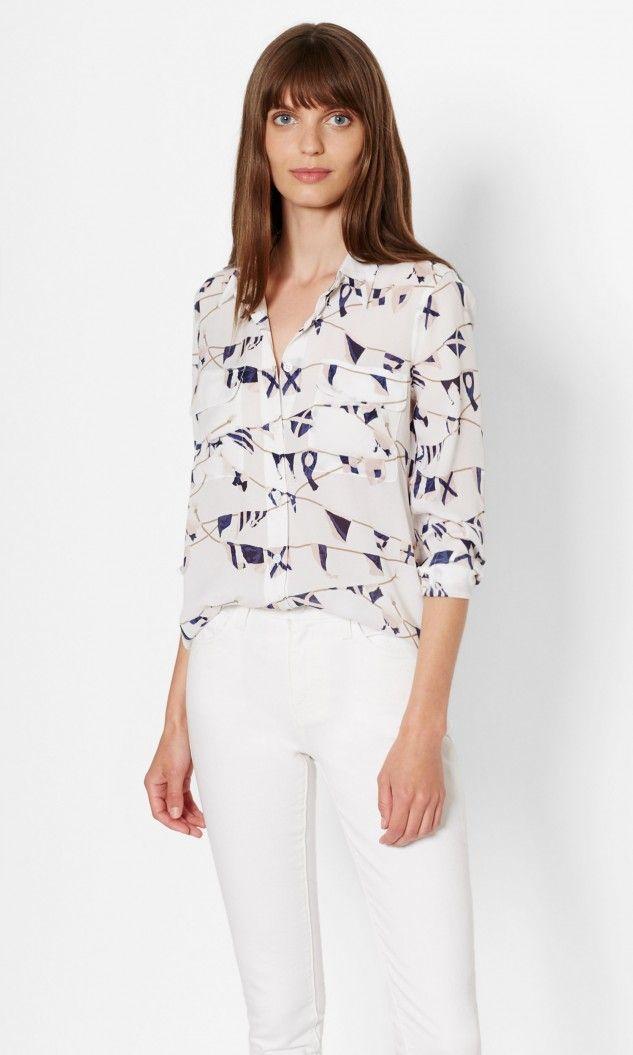 2630b25b053bd6 EQUIPMENT Slim Signature Silk Shirt.  equipment  cloth  all ...