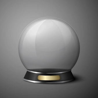 Vector Crystal Ball For Fortune Tellers Crystal Ball Crystals Ball