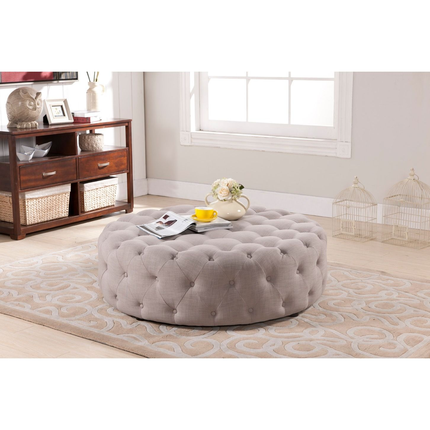 Tie your room together with the welldesigned cardiff modern ottoman
