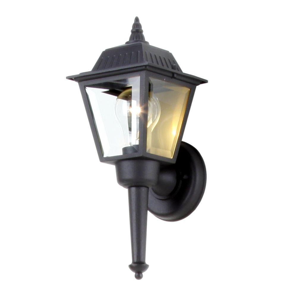 Outdoor Wall Lantern Sconce Bpl1611 Blk