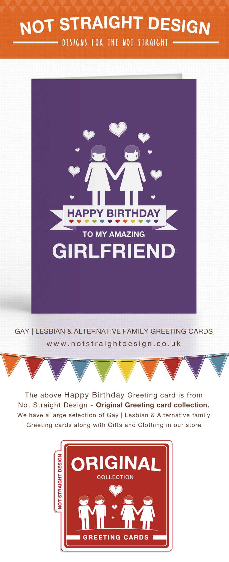 Happy Birthday To My Amazing Girlfriend Greeting Card Available Buy At Our Zazzle Store Not Straight Design