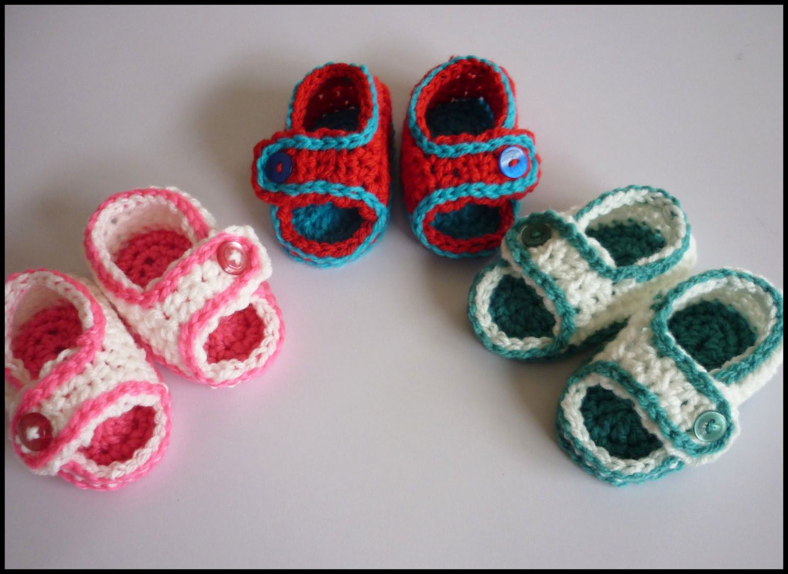 60+ Adorable and FREE Crochet Baby Sandals Patterns   Crochet baby ...