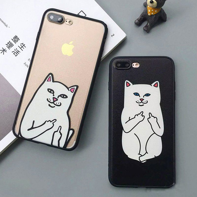 Lovely Lavaza Cute Cat Kitty Fishes Moon Meow Phone Cover Case For Apple Iphone X Xr Xs Max 6 6s 7 8 Plus 5 5s Se 5c 4s 10 Cases 8plus To Have A Unique National Style Phone Bags & Cases