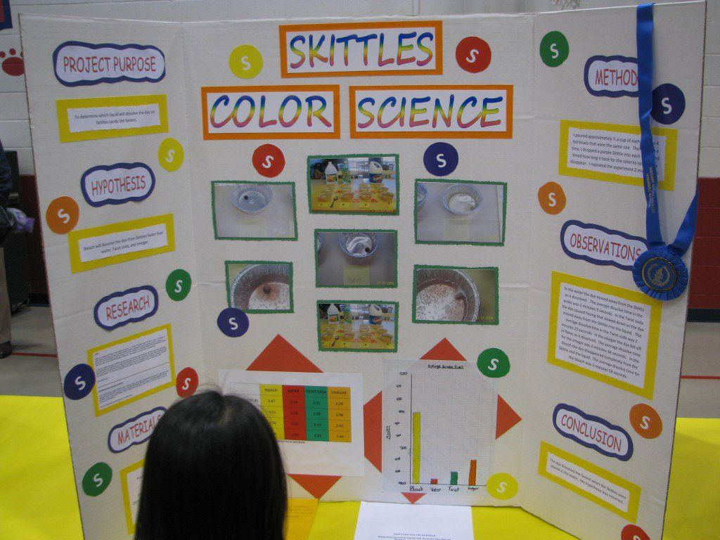 How to Do a Great Elementary Science Fair Project and Board Layout ... for Cool Poster Ideas For School Projects  45gtk