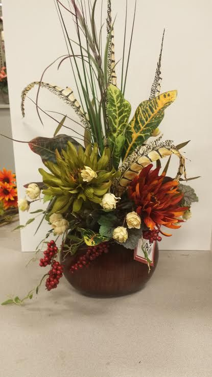 Silk Meeting In My Bedroom: Fall Flowers Are In! Plymouth Meeting Michaels