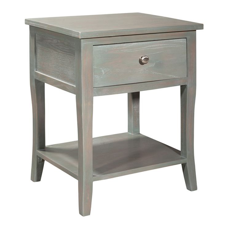 Best Coby 1 Drawer Nightstand In Ash Grey Bedroom Pinterest 640 x 480