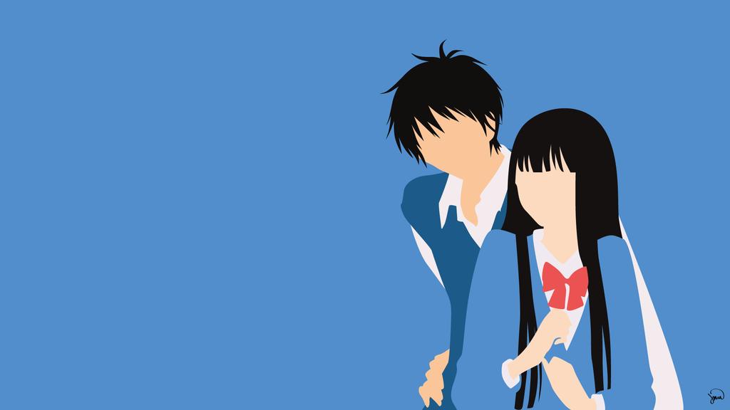 Kazehaya Shouta/Kuronoma Sawako {Kimi ni Todoke} by greenmapple17 on DeviantArt