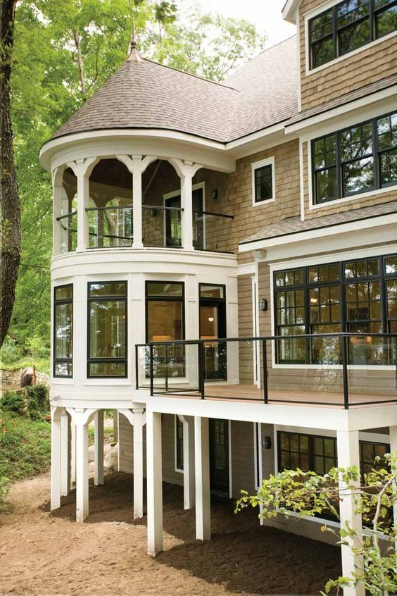 Craftsman Style House Plan - 3 Beds 4.5 Baths 4060 Sq/Ft Plan #928-71