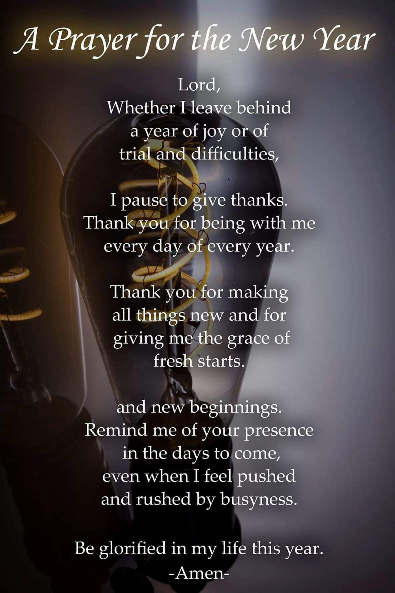 Pin by Connie Hood on Spiritual New years prayer