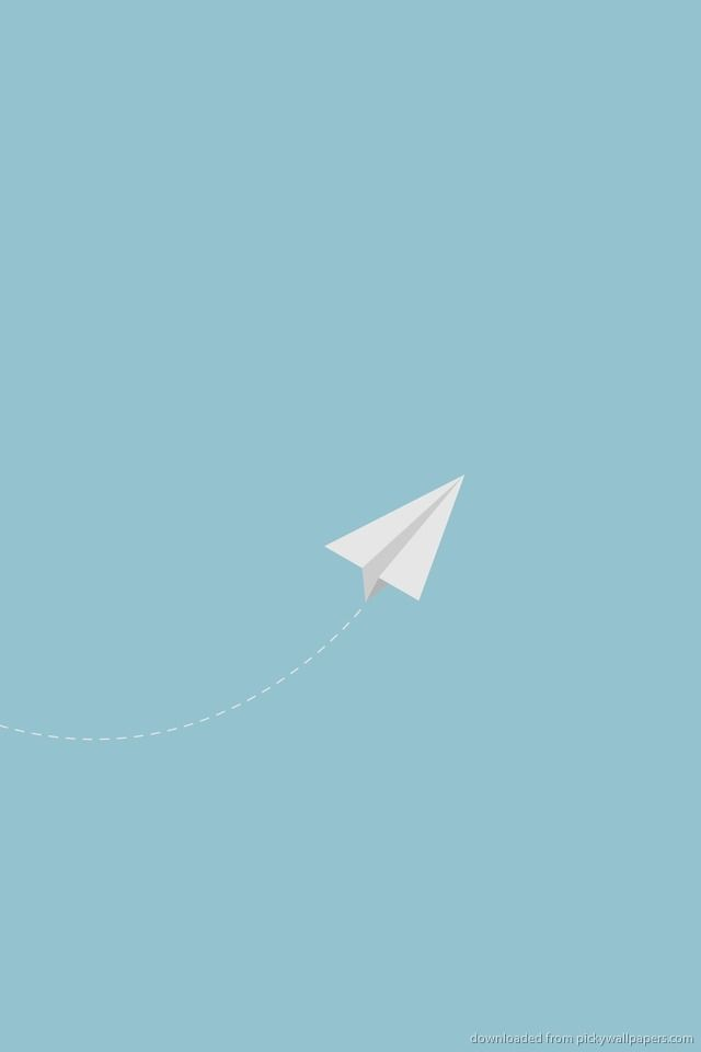 iphone minimalist wallpaper minimalistic paper plane jpg stuff to buy 5522