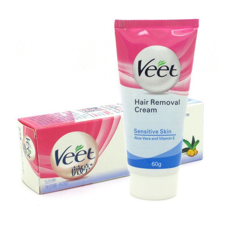 60g Veet Aloe Permaet Fast Depilatory Shavig Hair Removal Cream Pailess Hs Legs Armpits Private Parts Hair Removal