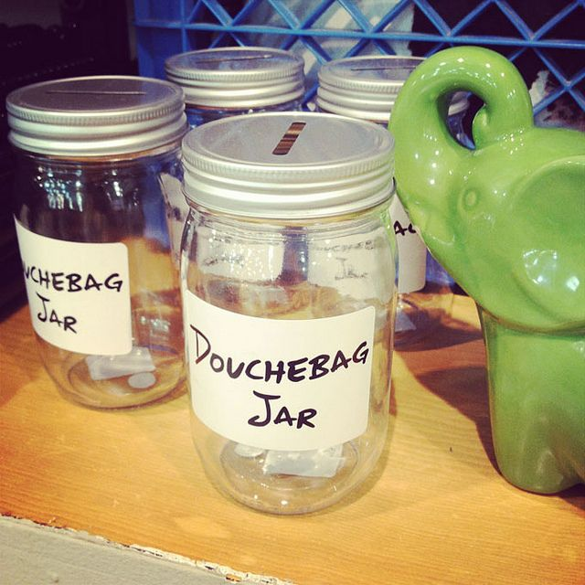 New Girl has inspired such a great thing with this jar here... #duchebagjarinstagram by Kitty Cotten, via Flickr