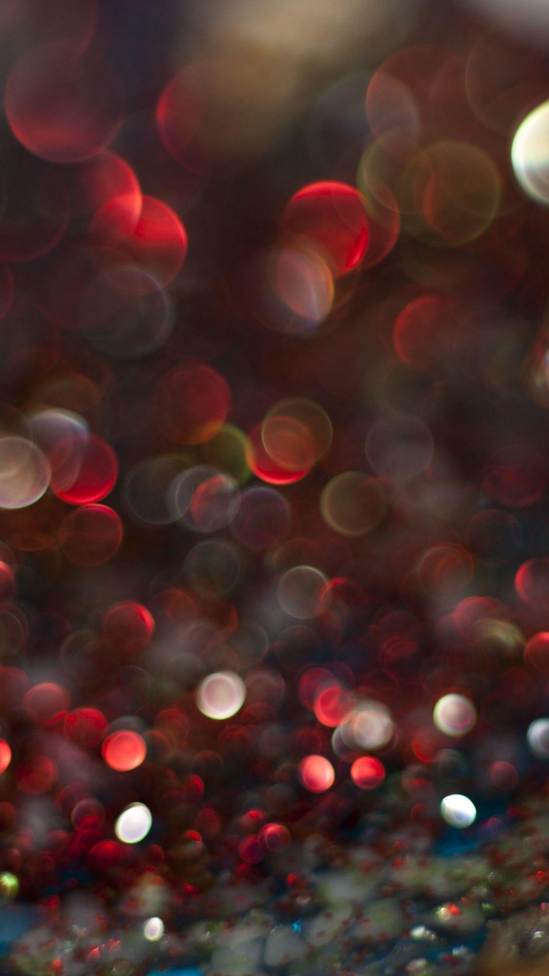 Red And Dark Abstract Bokeh Wallpaper Bokeh Wallpaper