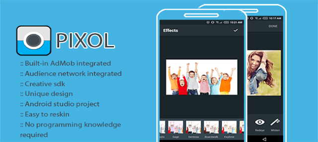 PHOTO EDITOR ( PIXOL ) + ADMOB - Codecanyon Free Download