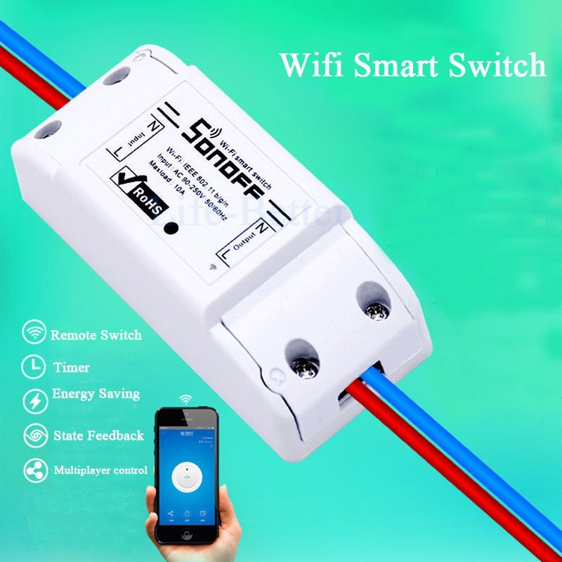 Itead Sonoff Smart Home Remote Control Wireless Switch