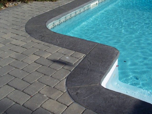 Nj Stamped Concrete Pool Pinterest Stamped Concrete Concrete And Pool Coping