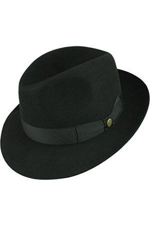de4c19c7c6c13 Hombre Sombreros - Guerra Castor Lux franela Fedora sombrero de fieltro de  pelo franela Fieltro – 59
