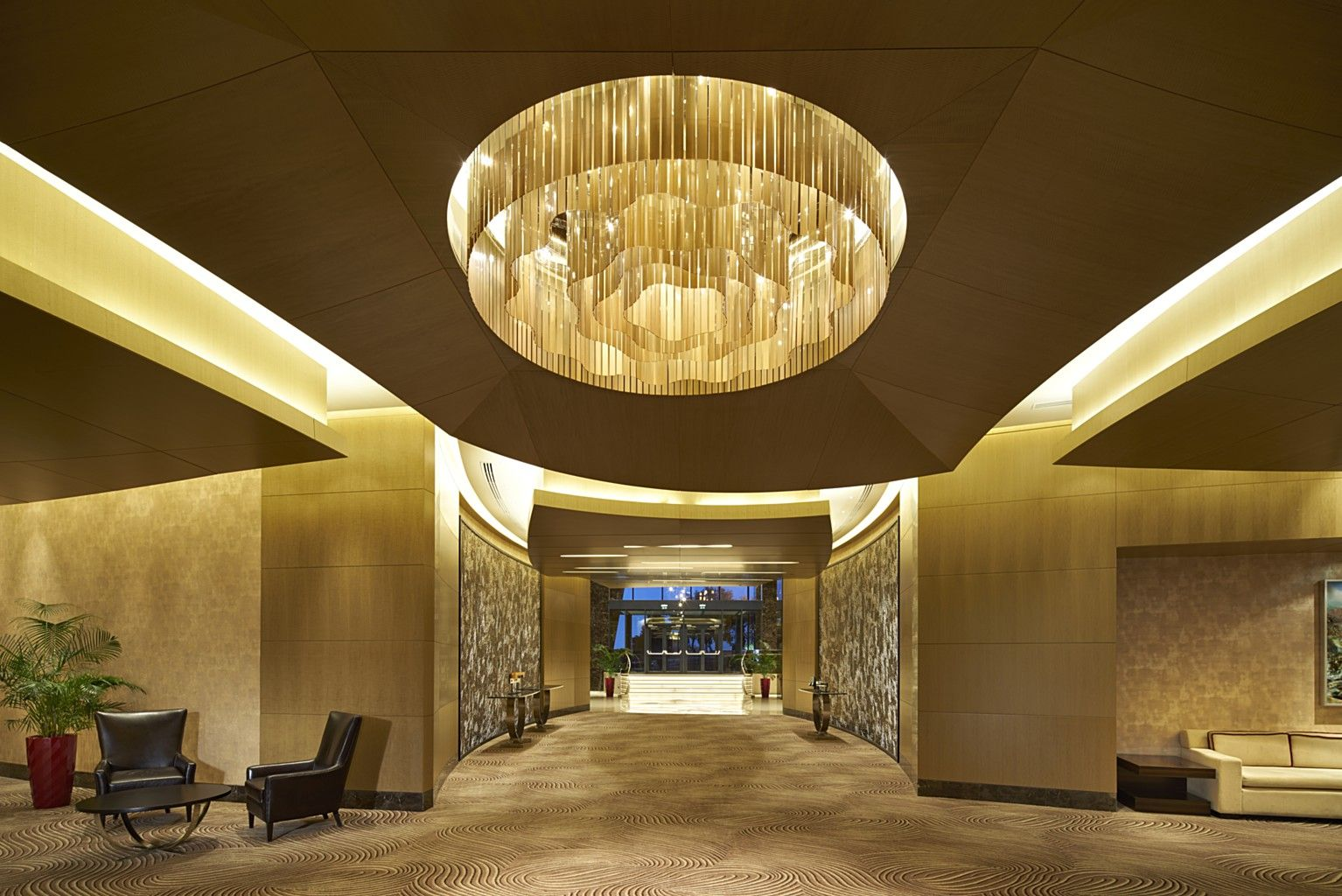 Damla Led Lighting Systems Fairmont Hotel Flame Towers