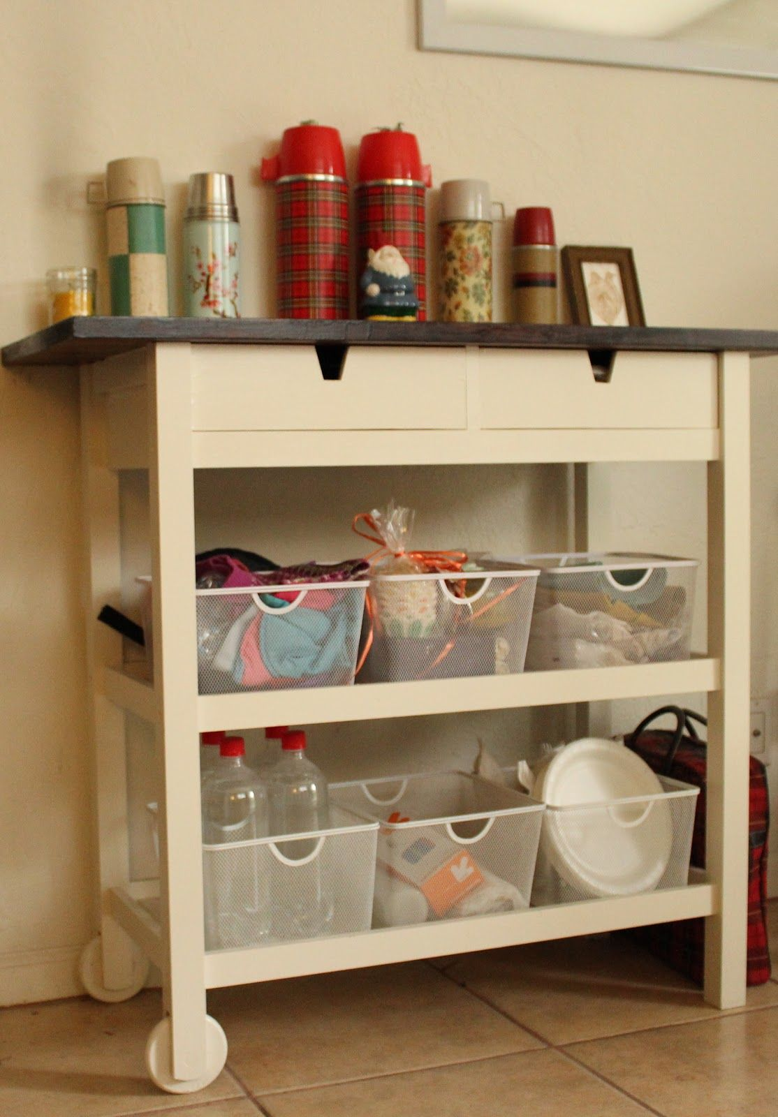 Ikea Forhoja Kitchen Cart D キッチンワゴン キッチン チェア