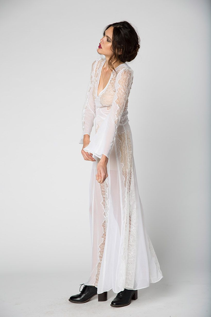 Photo of The Stone Cold Fox Vermont Gown
