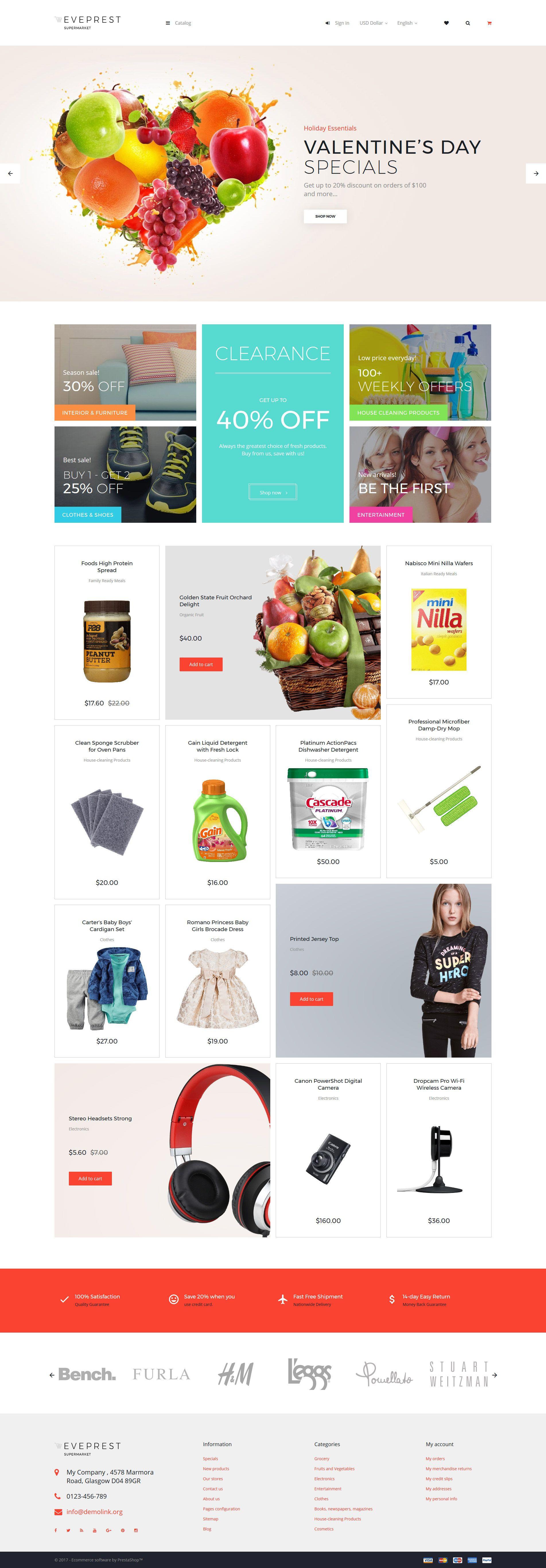 Eveprest - Supermarket