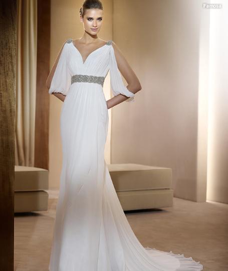 Vestidos novia sencillos elegantes