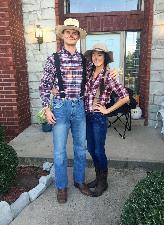 Scarecrow couples halloween costume!  sc 1 st  Pinterest & Scarecrow couples halloween costume! | u2022randomu2022 | Pinterest | Couple ...