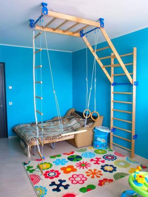 Fabelhafte Spiel-Gym-Ideen, die Spaß Kindern Räumen hinzufügen - Neueste Dekor #salledejeuxenfant
